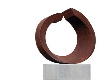 Professional Precision Corten Steel Sculpture Outdoor Indoor Decration